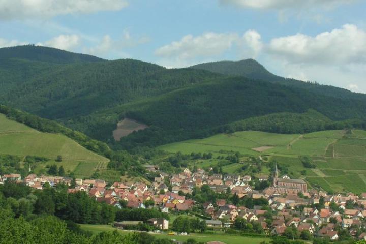 Panorama du Val Saint Grégoire
